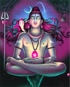 Pradosha Vrata Katha is a Hindu vrata for the worship of Lord Shiva and Parvati. Pradosh Vrat is observed on the trayodashi thirteenth day in Hindu month. Shiva Shambo, Shiva Art, Lord Shiva, Hindu Art, Lord Ganesha, Krishna, Bhagavad Gita, Advaita Vedanta, Bhakti Yoga