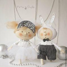 Купить Елка в детском саду Зайчик и Снежинка Игрушки на Елку - елка в детском саду
