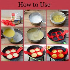 Silicone Pancake Mold Non-stick Heart Square Flower Shape Omelette Mold Egg Ring Cheap - NewChic Mobile