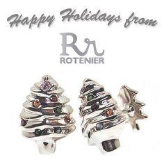 ☃ Happy Holidays from Rotenier! #cufflinks #happyholidays #rotenier