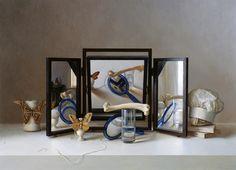 Scott Fraser, 'Three Way Vanitas,' Gallery 1261 Hyperrealism, Photorealism, Hunter Museum, Realistic Paintings, Art Paintings, Still Life Art, Realism Art, Vanitas, Museum Collection