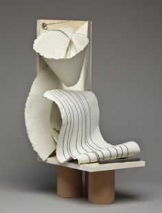 "Anthony Caro ""Paper Sculpture No. 98,"" 1981  http://www.pinterest.com/elisevashby/art-modern-sculpture/"