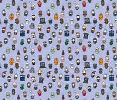 dr who fabric