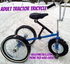 Custom Built Special Needs Tricycles  HigleyWelding.com