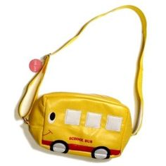 Yellow Bus Kids Bag $11