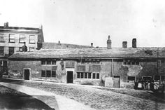 The Horseshoe Inn, Old Street, Huddersfield (pulled down in 1883)
