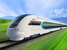 High speed train PSD  Clinic clean fast white safe concept