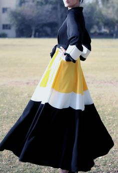 Daisy Abaya Dress Black by LanaLik on Etsy