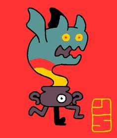 runaway demon in a pot