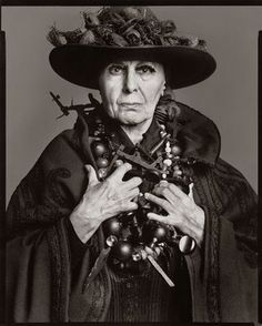 """I never liked the middle ground–the most boring place in the world."" -Louise Nevelson"