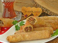 Fırında Avcı Böreği Resimli Tarifi - Yemek Tarifleri