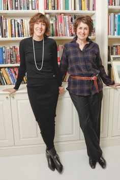 Nora Ephron & Delia Ephron, sisters and great women of letters.