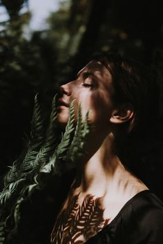 One with nature - The soul is the same in all living creatures although the body. One with nature Photography Poses, Nature Photography, Fashion Photography, Shadow Photography, People Photography, Fashion Fotografie, One With Nature, Portrait Inspiration, Light And Shadow
