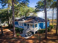 OCEAN+FRONT+'BLUE+FUSKIE'+COTTAGE++-+FREE+CART+-+FABULOUS!!++++Vacation Rental in Daufuskie Island from @homeaway! #vacation #rental #travel #homeaway