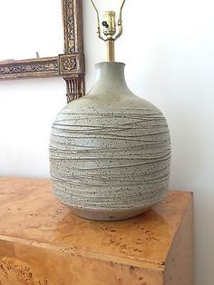 Shop by Category Wood Lamp Base, Wood Lamps, Table Lamps, Earthy Decor, Basic Painting, Ceramic Light, Ceramic Pottery, Ceramic Lamps, Pottery Classes
