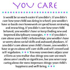 Pinned Image  Special needs parents inspiration. I'm thinking of printing and hanging it on my wall.