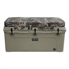 What's better than a huge cooler to keep all those beverages cold this summer?  A huge unbreakable YETI cooler with a sick camo pattern!