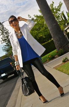 What a fun and effortless outfit.  I <3 this!