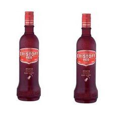 Vodka Eristoff Red 70Cl - LOT DE 2