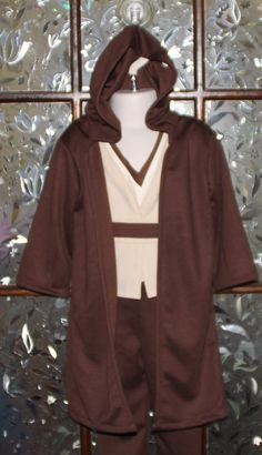 Clothing, Shoes & Accessories Steady Star Wars Jedi Obi-wan Kenobi Cotton Towelling Hooded Dressing Gown Bathrobe Numerous In Variety