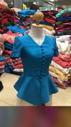 Blouse Styles, Blouse Designs, Corporate Fashion Office Chic, Myanmar Dress Design, Myanmar Traditional Dress, Classy Work Outfits, Kurti Embroidery Design, Stylish Blouse Design, Latest African Fashion Dresses