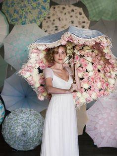 wedding umbrellas from @bellaumbrellas Girls Dresses