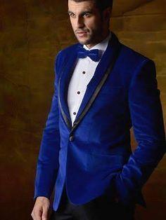 royal blue mens velvet tux jackets - Google Search