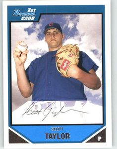 2007 Bowman Chrome Prospects BC14 Scott Taylor - Chicago Cubs (XRC - Rookie Card / Prospect) (Baseball Cards) *** Be sure to check out this awesome product.