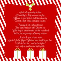 Giggles Galore: 12 Days of Christmas Service