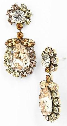 Gorgeous Dannijo 'Havana' earrings.