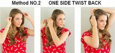 Einfache Frisuren zu machen #zumselber #frisurenzum #selbermachen #mittellangeshaar #langehaare #frisurenselber #alltag #schnelle #bob #abiballfrisuren #schule #schicke #silvester