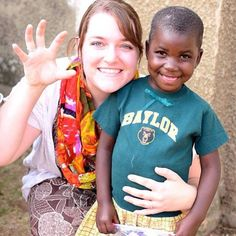 libbyrogers1 (on Instagram) shared this photo of her Baylor summer experience serving at a Ugandan orphan ministry. #SicEm #BaylorEverywhere