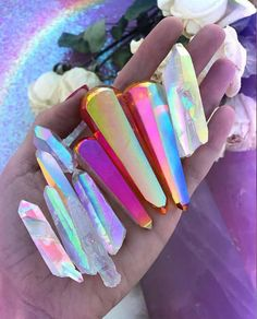 """Find and save images from the """"💎💎💎Cristals💎💎💎"""" collection by Claudia Vanessa Lira Hernández (VanyCL) on We Heart It, your everyday app to get lost in what you love. Crystal Magic, Crystal Healing, Crystals And Gemstones, Stones And Crystals, Crystal Aesthetic, Cool Rocks, Crystal Decor, Rocks And Gems, Rocks And Minerals"""