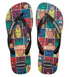Marvel x Havaianas collection http://shoecommittee.com/blog/2017/havaianas