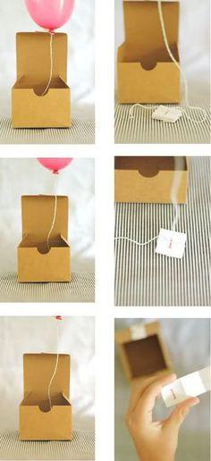 #balloon in a box