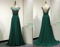 A Line Prom Dress,Prom Dresses,Evening Dress,Formal Dress