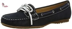 Sebago Meriden Two Eye, Mocassins femme, Bleu (Navy), 39 EU (6 UK) - Chaussures sebago (*Partner-Link)