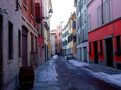 Parma, borgo Onorato. Love this street