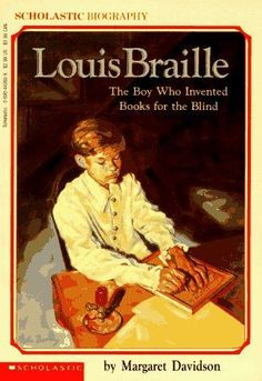 Blinded at the age of 3, Louis Braille developed a superb memory that enabled him to do well in school. But that wasn't enough - Louis wanted to read. Finding the alphabet impractical, he invented the raised dot alphabet, Braille, now used throughout the world. This poignant biography tells the story of Louis Braille and his invention of a language that changed thousands of lives. [$5.50]