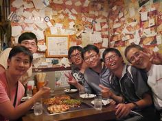 Day2 和很熱情的木地大阪燒老闆合影