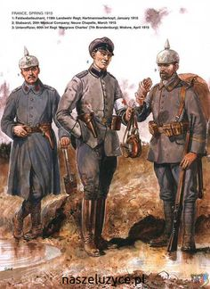 German army 1915