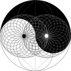 Yin yang Mapped onto the Torus by OMniscience1 on DeviantArt