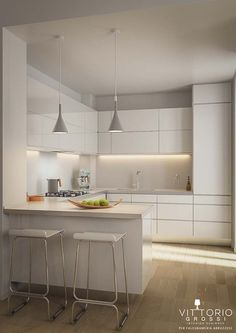 30 most beautiful white kitchen design ideas 2016 Kitchen Remodel Ideas Beautiful Design Ideas Kitchen White Kitchen Sets, Home Decor Kitchen, Rustic Kitchen, Diy Kitchen, Kitchen Cabinet Design, Modern Kitchen Design, Interior Design Kitchen, White Kitchen Interior, Kitchen White