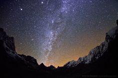 Milky Way above the CHO LA pass (5,420 m) by Anton Jankovoy, via 500px