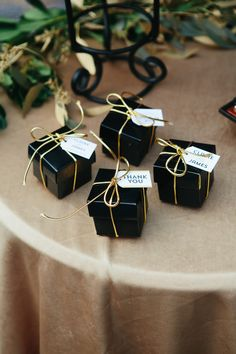 Black Gold Wedding - You know what's better than a gorgeous dose of Old Hollywood-inspired pretty? A gorgeous dose of Old Hollywood-inspired pretty with a decidedly modern twist. One that takes all of that glamour and. Old Hollywood Theme, Old Hollywood Wedding, Hollywood Glamour Party, Wedding Favours, Party Favors, Wedding Gifts, Bridal Shower Gifts For Bride, Bride Gifts, Ampersand Wedding
