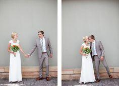 bride's hair~ <3 groom's suit. lovely shots.