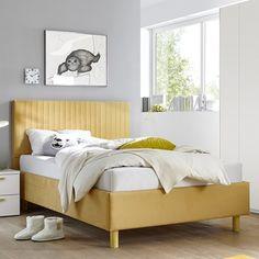 Cikkszám: 624303-59 90x200cm-es ágy, függőleges díszvarrással. Rendkívül dekoratív és stílusos!