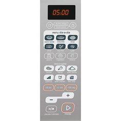 Micro-ondas Brastemp BMA30A 30 Litros Cinza Função Adiar Preparo