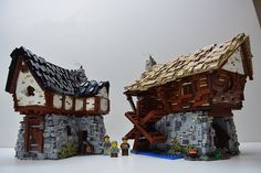 LEGO Medieval Cottage & Watermill