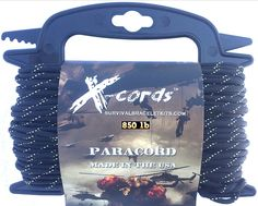 X-cords Paracord 850 Lb Stronger Than 550 and 750 Made By Us Government Certified Contractor ** You can find out more details at the link of the image.